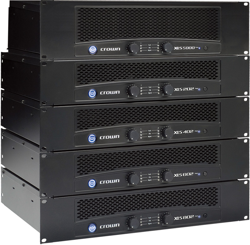 皇冠CROWN XLS 系列功率放大器XLS602产品照片