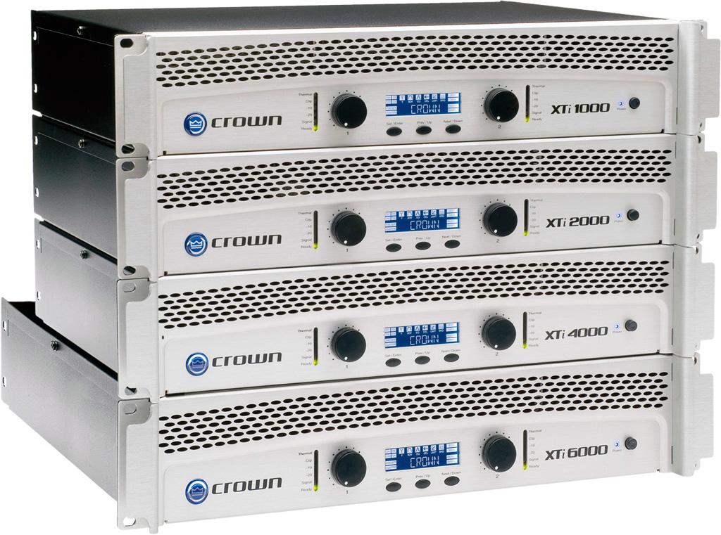 皇冠CROWN 功率放大器 XTi6000产品图片