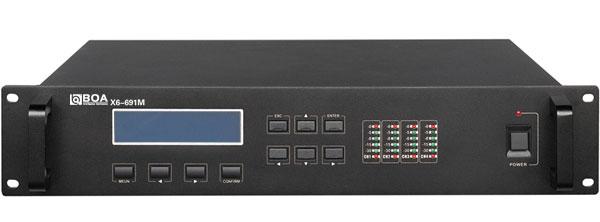 X6-691数字红外无线系统主机