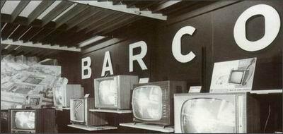 巴可生产第一台电视机