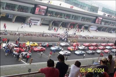 巴可获得上海F1国际赛车场订单