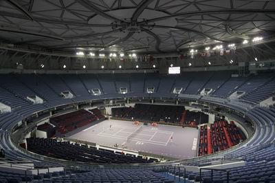 巴可LED入主上海网球大师杯主赛场