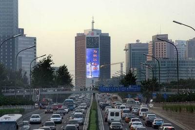 巴可为北京京信大厦安装国内最大单体LED屏幕