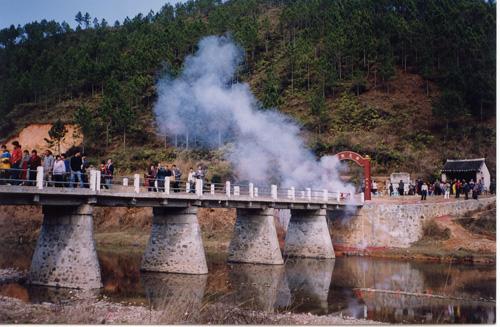 在粤西山区捐建大桥2