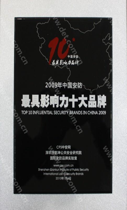 2010安防十大品牌