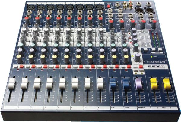 声艺Soundcraft 8路多用途调音台 SOUNDCRAFT EFX8照片