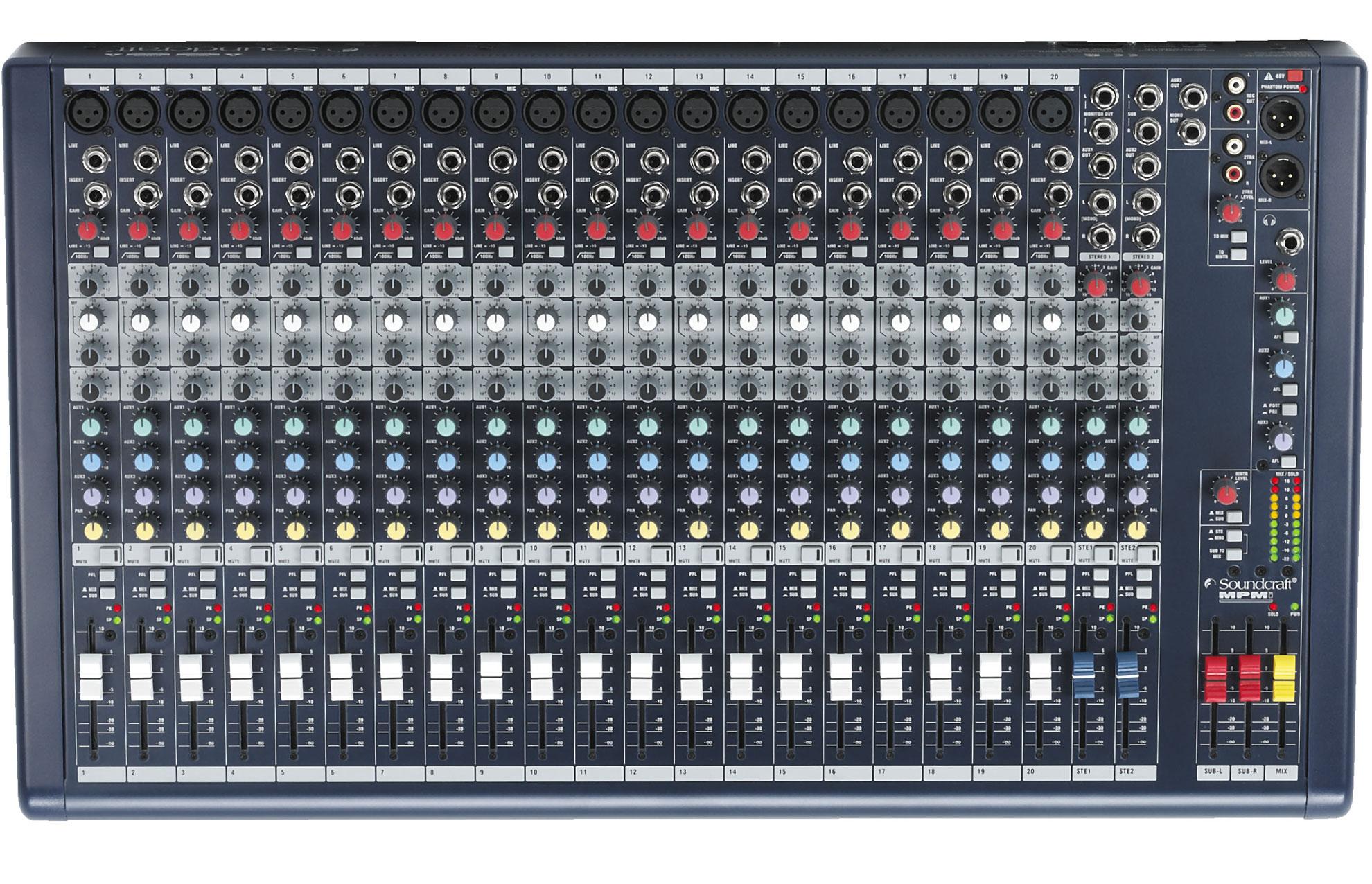 声艺Soundcraft  MPMi 系列多功能调音台 SOUNDCRAFT MPMi20产品照片