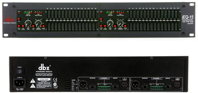 DBX 数字式图示均衡器 DBX iEQ15产品照片
