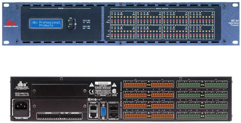 DBX 数字矩阵处理器 DBX SC64产品照片
