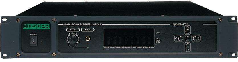 迪士普DSPPA信号矩阵器PC1009S产品图片