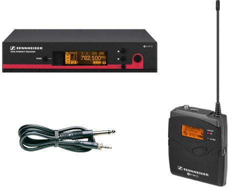 森海塞尔电子Sennheiser吉他成套无线传送系统ew 172 G3