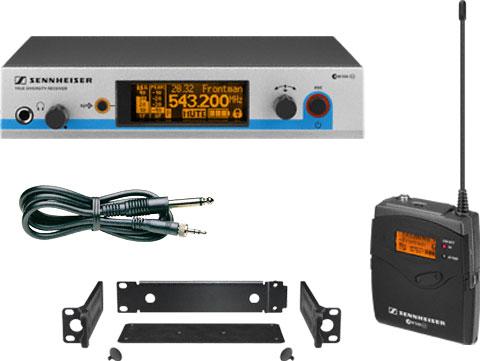 森海塞尔Sennheiser吉他无线传送系统ew 572 G3