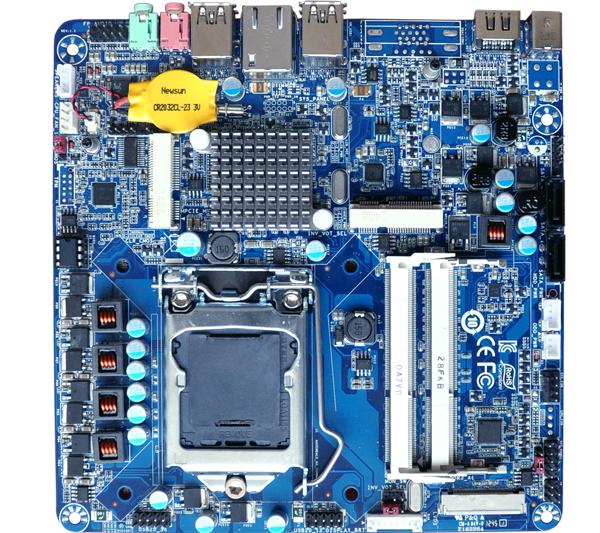 微步Wibtek 嵌入式工业主板 TH61G-S产品图片