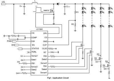 LED背光驱动:电流能力与电流平衡至关重要
