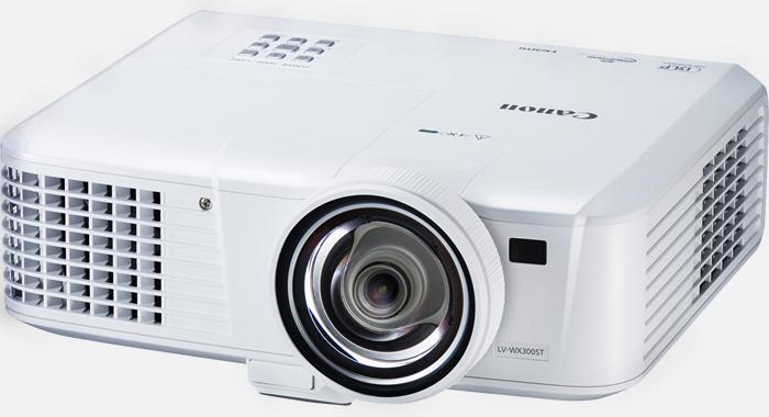 佳能Canon  短焦投影机 LV-X300ST产品照片