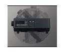 松下Panasonic LCD工程投影机 PT-SLX16K安装调试