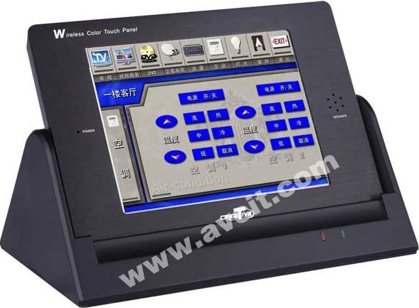 捷控CREATIVE 6.4英寸64K色真彩无线触摸屏  XP2700B产品图片