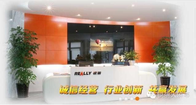 上海锐丽科技股份有限公司(锐丽Really)简介——公司前台