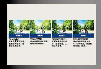 奥图码Optoma 短焦投影机 T762ST色彩调整