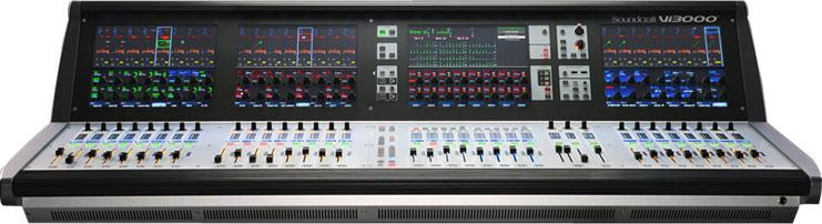 声艺Soundcraft 数字调音台 SOUNDCRAFT Vi3000产品照片