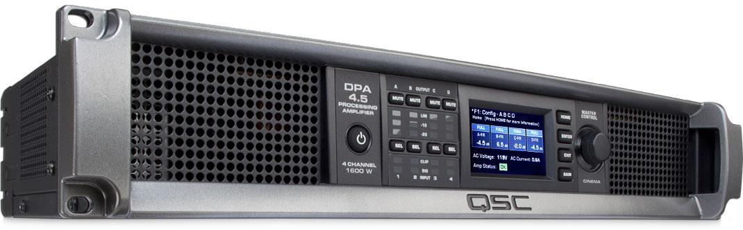 美国QSC  DPA 系列多通道数字处理功放 DPA4.5产品照片