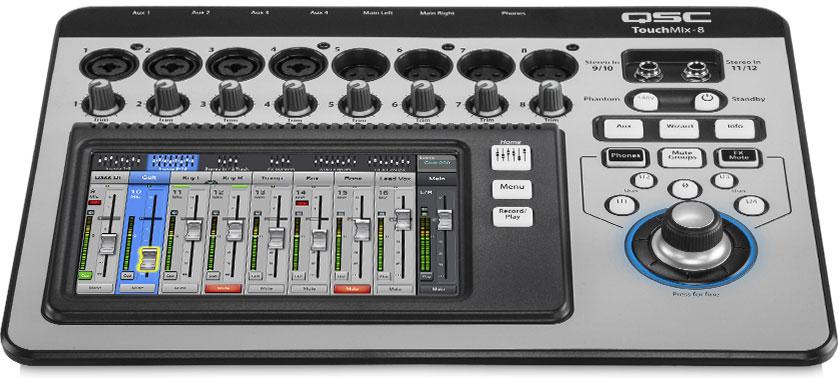 美国 QSC  TouchMix便携式数字调音台 TouchMix 16产品照片