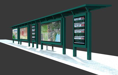 智能公交站牌