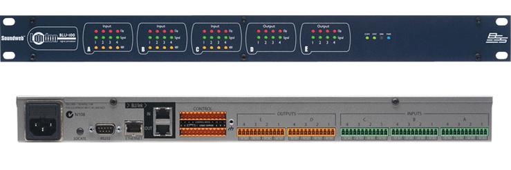 BSS   数字音频处理器  BLU-100产品外观