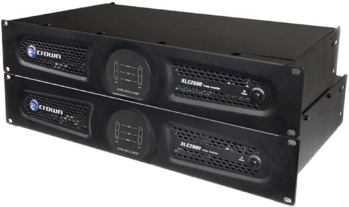 皇冠CROWN 影院功率放大器  XLC 2800性能特征