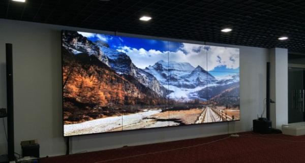 清投LCD液晶拼接进驻安徽某设计院项目图一