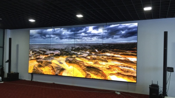 清投LCD液晶拼接进驻安徽某设计院项目图二