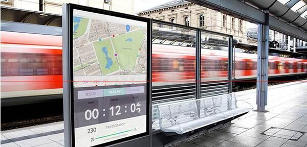 户外广告机安装交通解决方案
