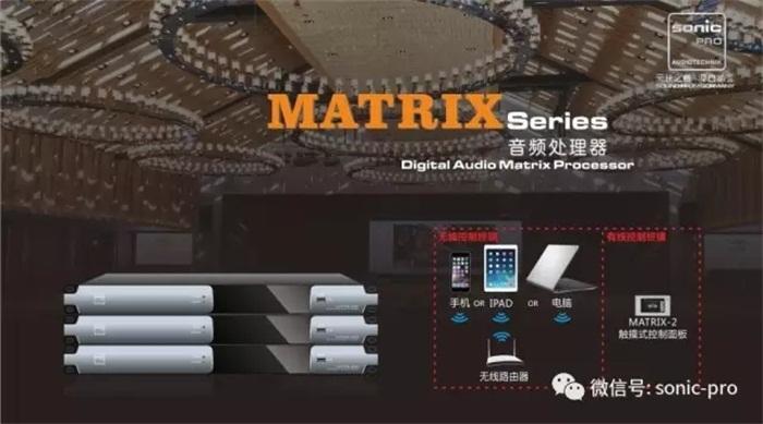 产品推介:德国SONIC-PRO音响--MATRIX系列数字音频矩阵处理器(AES版本)
