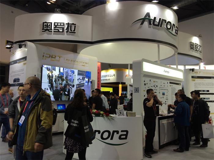 Aurora 携分布式传输终极解决方案重磅亮相IFC 2017