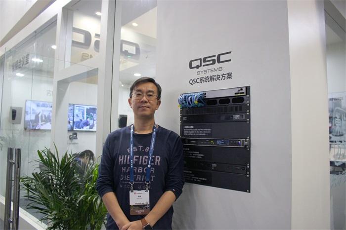 MNA大中华区首席代表、QSC亚太区商务经理兆翦