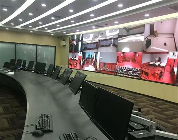 CREATOR快捷288路混合拼接矩阵装备北京市第二中级人民法院
