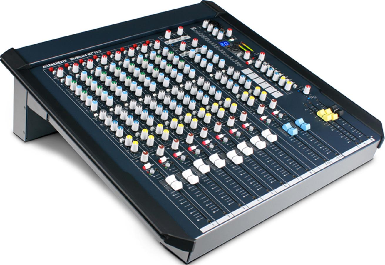 艾伦赫赛ALLEN & HEATH  高品质紧凑型模拟调音台  MixWizard WZ4 12∶2产品照片