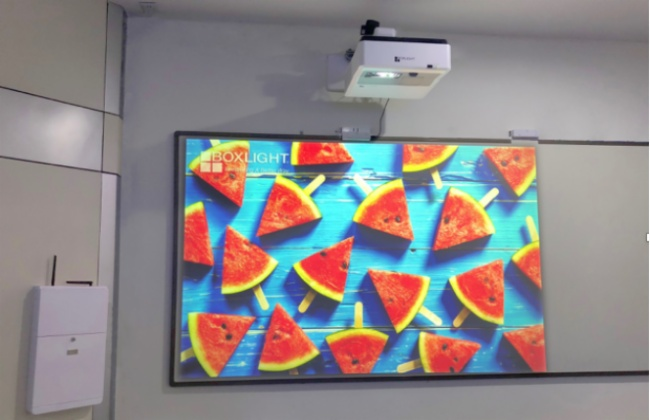 boxlight宝视来发布护眼互动投影整体解决方案