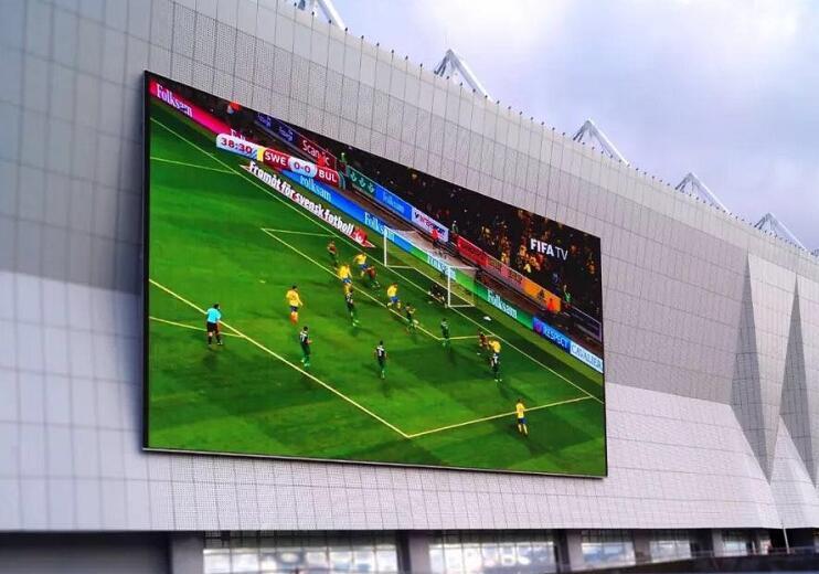世界杯没有中国队,但还有中国LED显示屏