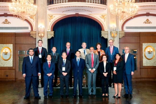 精研电子触摸框助力WFE董事会会议暨资本市场发展高峰论坛