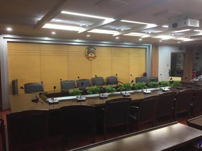 福州市某政協會議室應用雷蒙電子會議系統