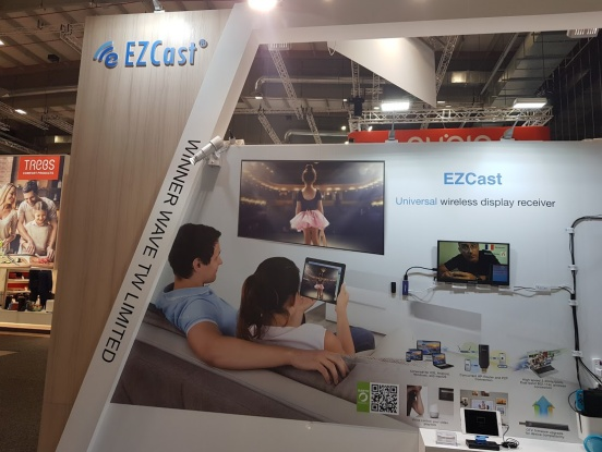 EZCast首款DLP智能微投影亮相IFA 2018