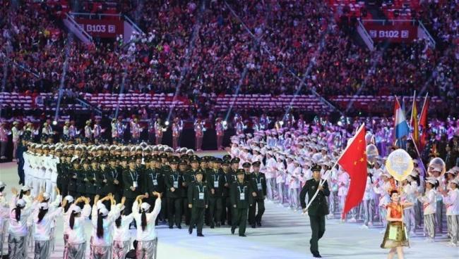 齊心好視通助力第七屆世界軍人運動會