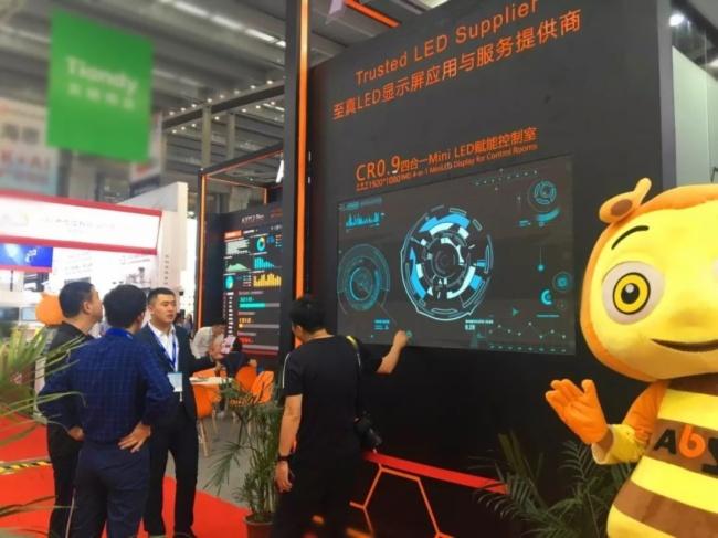集結黑科技丨艾比森全新Mini LED產品亮相深圳安博會