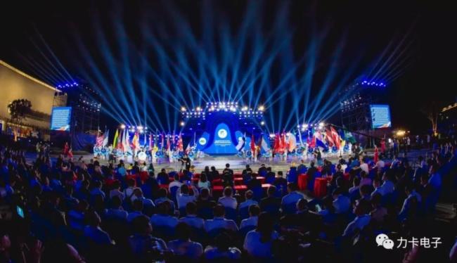 再迎世界級大型賽事!力卡無線演出音頻唱響2019定向世界杯決賽開幕式