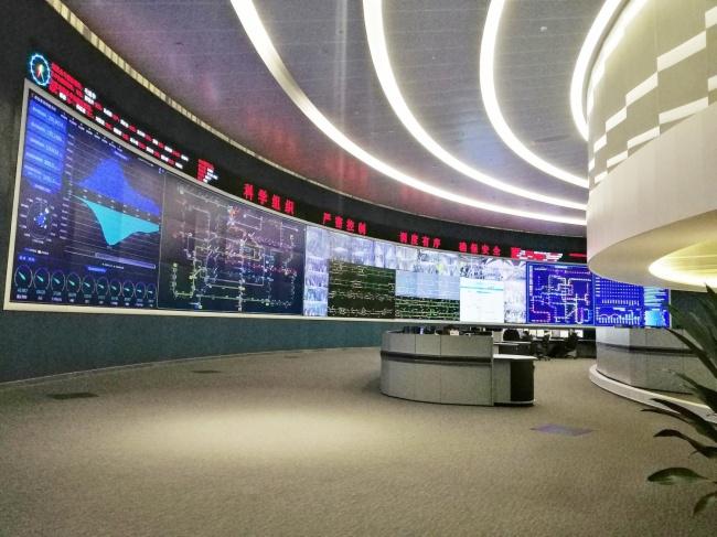 廣州地鐵調度中心DLP大屏