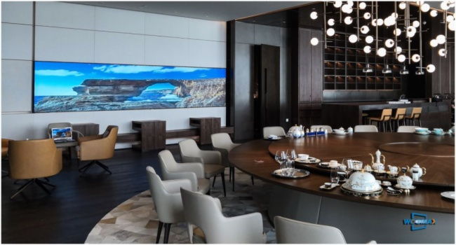 WOOMAX(沃迈斯)建成腾讯全球总部手游竞技中心激光显示大屏