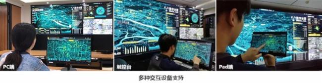 數字冰雹智慧電力大屏可視化決策系統圖片