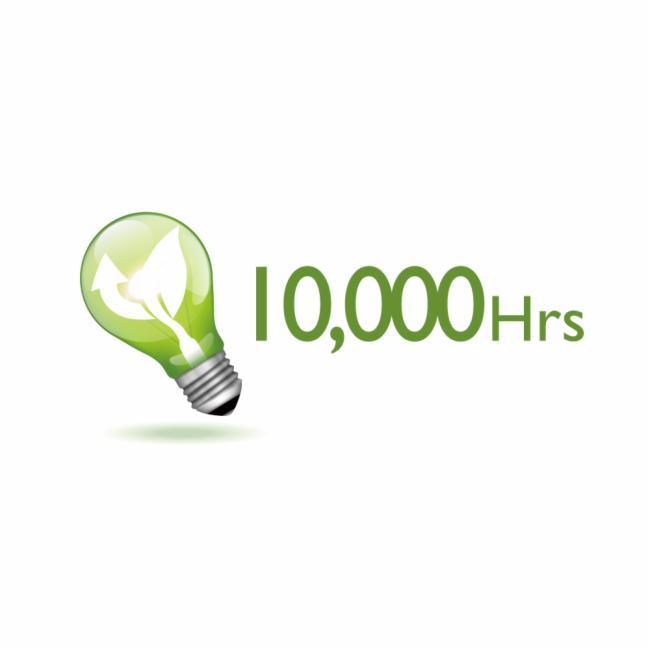 智能省電 使用壽命長達1000小時