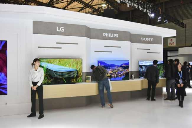 AWE 2019:LG Display展台声势浩大